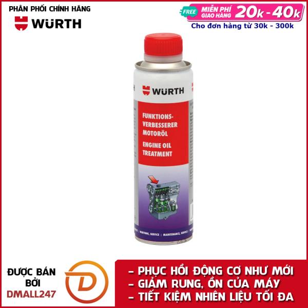 Phụ gia nhớt bảo dưỡng động cơ cao cấp Wurth WU-PGN300 - Dmall247, chăm sóc xe chuyên dụng