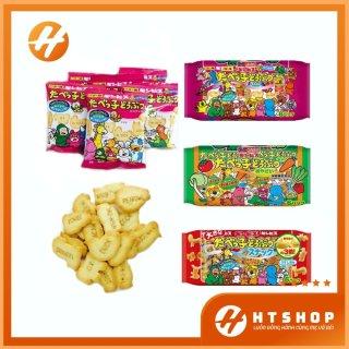 Set 6 Gói Bánh Ăn Dặm Ginbis DHA Hình Thú Nhật Bản thumbnail