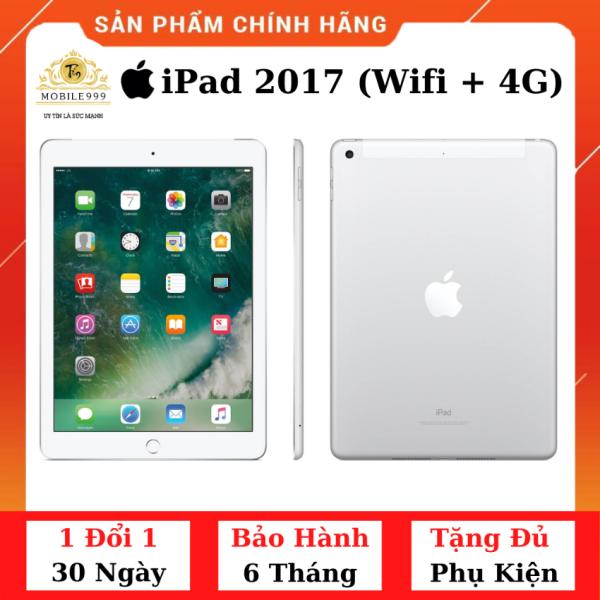 iPad Gen 5 2017 (Wifi + 4G) 32G /128GB Chính Hãng - Zin Đẹp - Màn Retina sắc nét - Tặng phụ kiện + Bao da - 1 đổi 1 30 ngày - BH 6 tháng - MOBILE999