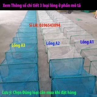 Lồng lưới bát quái chã 29 cừa ngục mắt lưới 1 cm dài 8m 9m chuyên đánh bắt cá tôm lươn trạch LDC-9 (xả hàng giảm giá và thumbnail