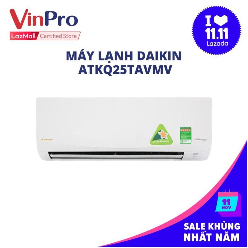 Bảng giá Máy lạnh Daikin ATKQ25TAVMV - 1.HP, diện tích hiệu quả dưới 15m2 , công nghệ inverter - Hàng chính hãng
