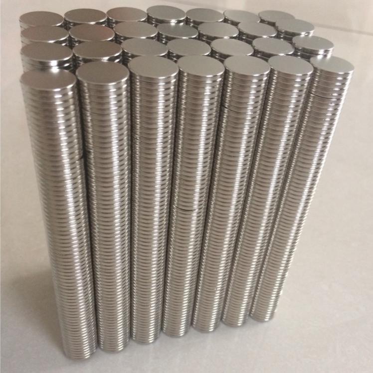 Set 50viên nam châm đất hiếm 10x2 mm- Trang trí nội thất, làm nắp hộp cao cấp, nắp ipad