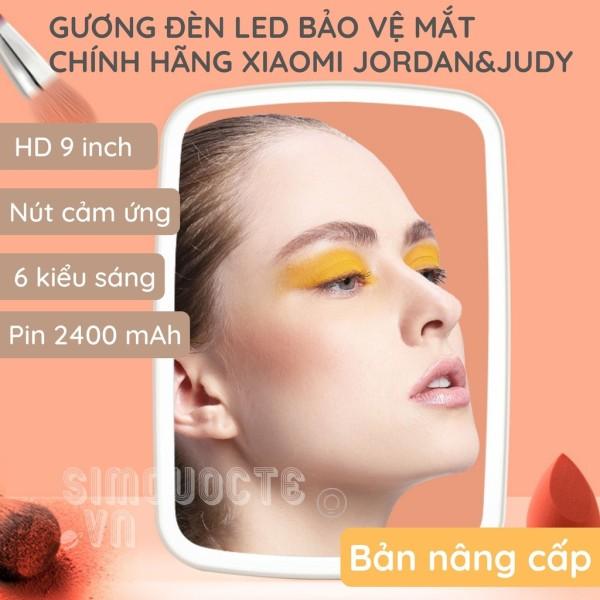 [BẢN NÂNG CẤP PIN 2400MAH] Gương trang điểm Xiaomi Jordan Judy NV505 - Gương trang điểm có đèn LED Jordan Judy