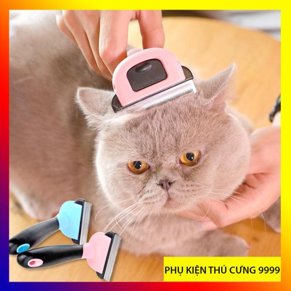 Lược Dele chải lông, lấy lông rụng dành cho chó mèo lông ngắn