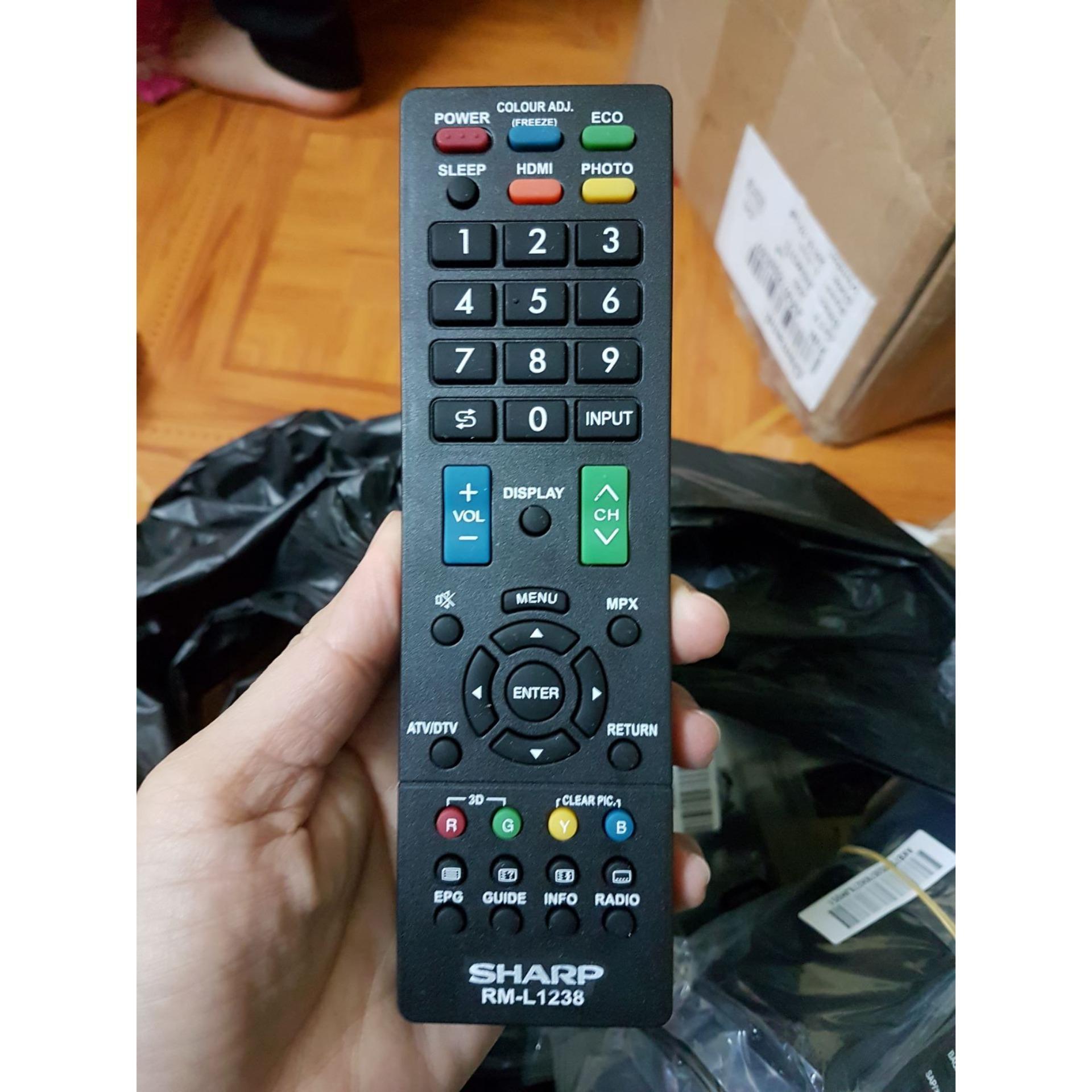 Bảng giá Điều khiển tivi sharp (mẫu 2)