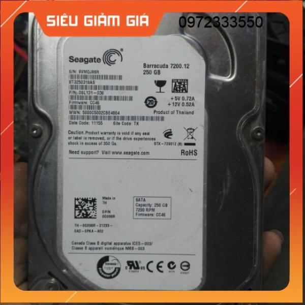 Bảng giá Ổ cứng 250G 500G dùng cho PC/LAPTOP Sức Khỏe GOOD Phong Vũ