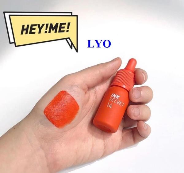 Son Kem Ink Peripera Velvet 14 màu cam.