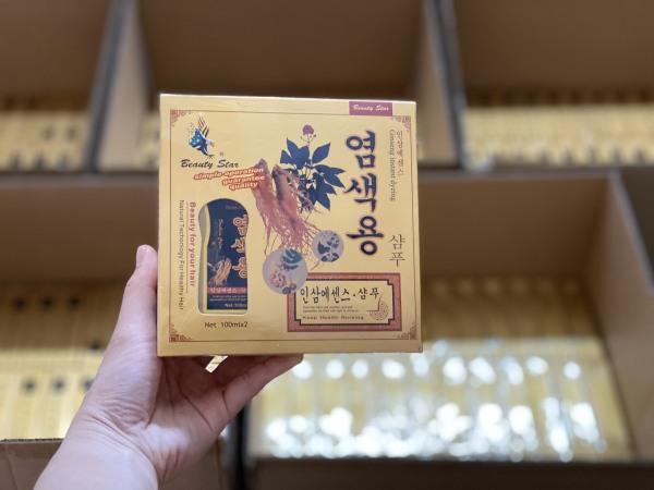 COMBO 3 hộp dầu gội nhuộm thảo dược đen tóc Beauty Star Hàn Quốc phủ bạc tốt, đều màu - CHẠY CHƯƠNG TRÌNH GIÁ CỰC TỐT