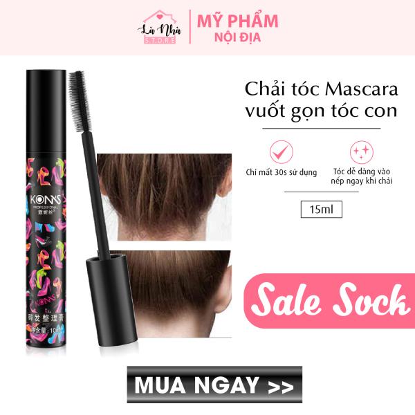 [COMBO 3] Chải tóc Mascara tạo kiểu tóc đẹp vuốt tóc con gọn vào nếp phụ kiện mini bỏ túi xách tiện dụng giá rẻ