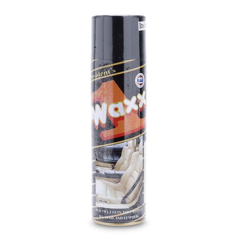 Chai xịt bóng da, đồ nhựa, lốp xe, gỗ Wax 1 450g - Nhập Thái