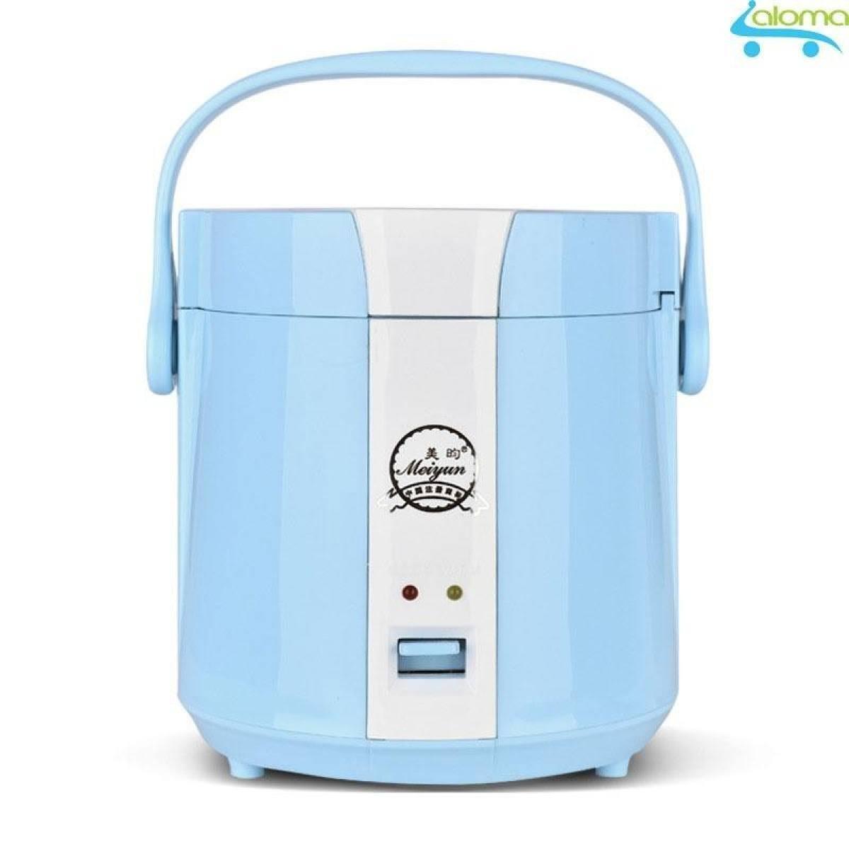Nồi cơm điện mini 1.2L Meiyun B12-A nấu cơm hâm nóng nấu cháo hầm xương (màu xanh)