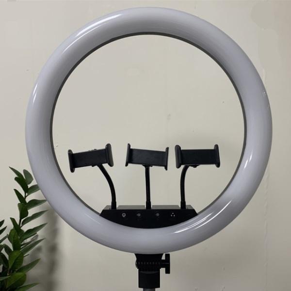 Bảng giá Đèn livestream 45cm 3 kẹp điện thoại chính hãng bảo hành 12 tháng
