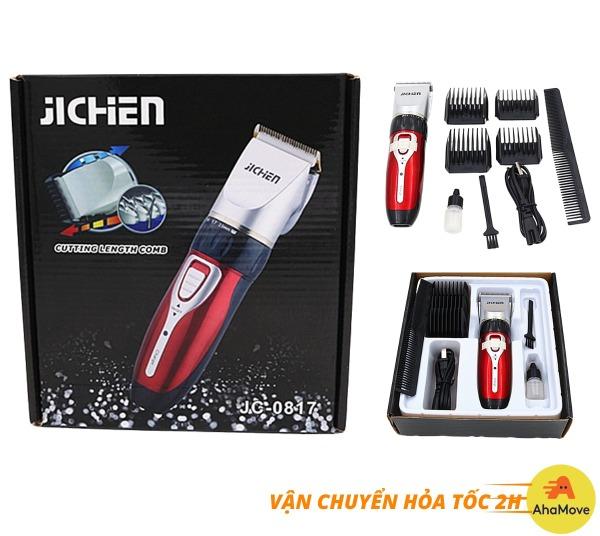 Tông đơ cắt tóc gia đình Jichen JC-0817 cao cấp