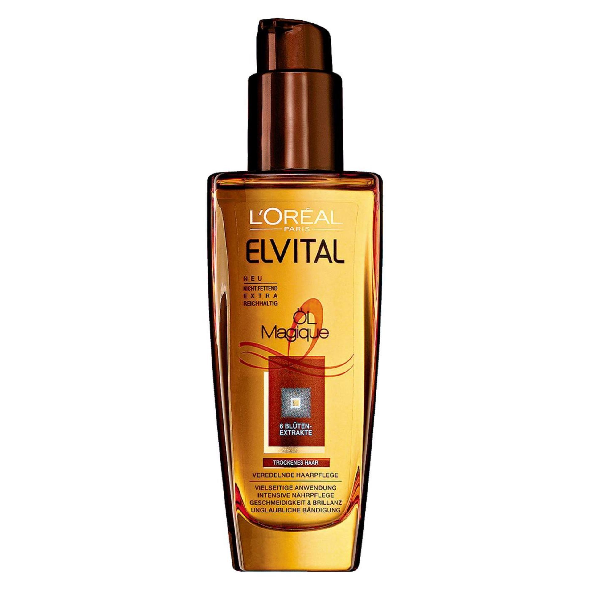 Tinh dầu dưỡng dành cho tóc khô LOREAL ELVITAL Oil Magique 100ml
