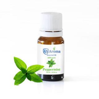 TINH DẦU BẠC HÀ (Peppermint) Asaroma (10ml) - 100% thiên nhiên - kháng viêm , giảm stress thumbnail