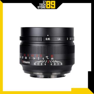 Ống kính 7artisans 50mm F 0.95 (Manual Focus) Ngàm Fujifilm-Sony thumbnail