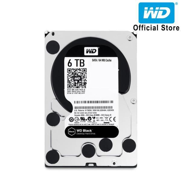 Bảng giá Ổ cứng HDD WD Black 6TB 3.5 inch SATA III 256MB Cache 7200rpm WD6003FZBX Phong Vũ