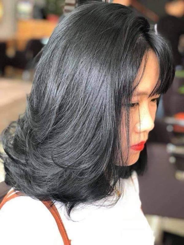 Kem nhuộm tóc màu Than Chì (kèm oxi và găng tay)
