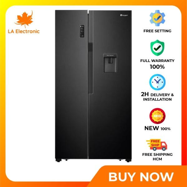 Trả Góp 0% - Tủ lạnh Casper 551 lít RS-575VBW - Miễn phí vận chuyển HCM