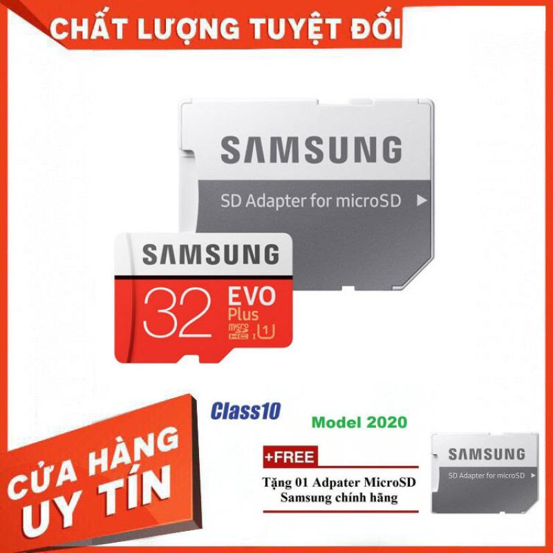 [HOT] Thẻ Nhớ MicroSDXC Samsung EVO Plus U1 32GB 100MB/s MB-MC64H 2020 - Bảo Hành 5 Năm