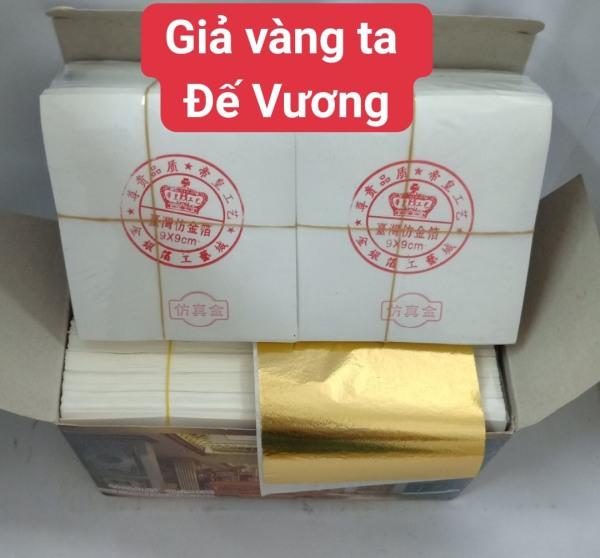 Mua Lá vàng Công nghiệp Đế Vương cao cấp Hacowa 500 lá