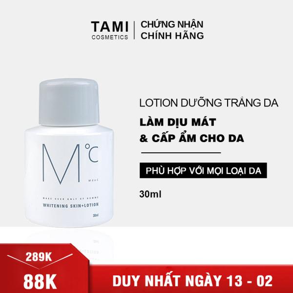 Lotion dưỡng trắng dành cho nam MdoC Whitening Skin+Lotion TM-MLT02 cao cấp