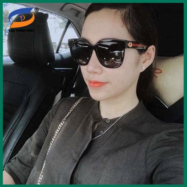 Mua Kính mát nữ - Đủ hộp và phụ kiện như hình - Mắt kính nữ thời trang 2019