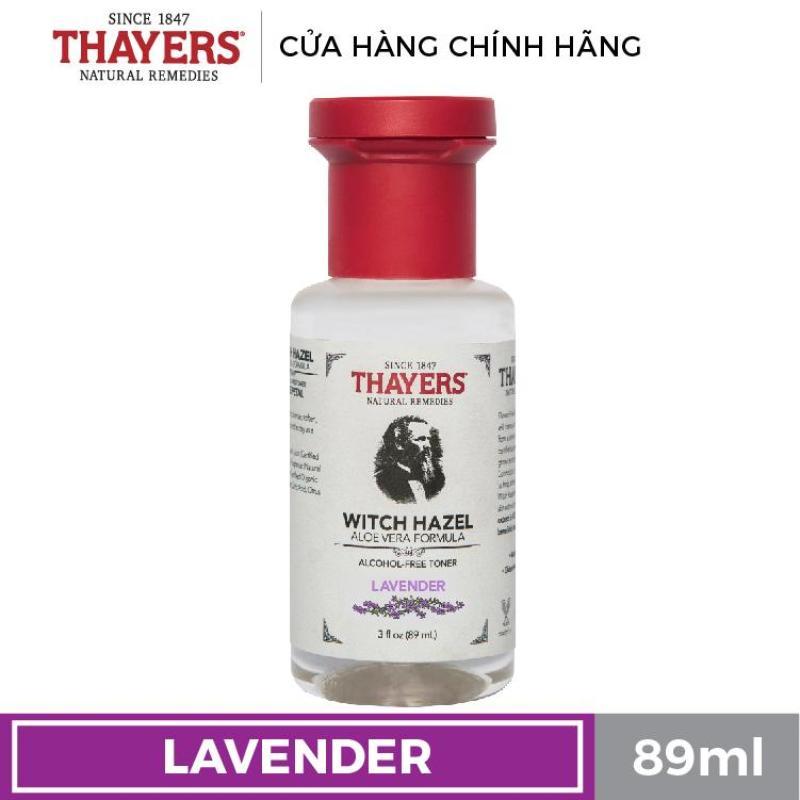 Nước hoa hồng không cồn THAYERS - Hương hoa oải hương - Travel size 89ml cao cấp