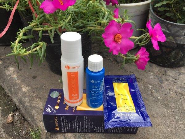 Sét tắm trắng da từ thiên nhiên DIPSO Thái Lan 90 ml