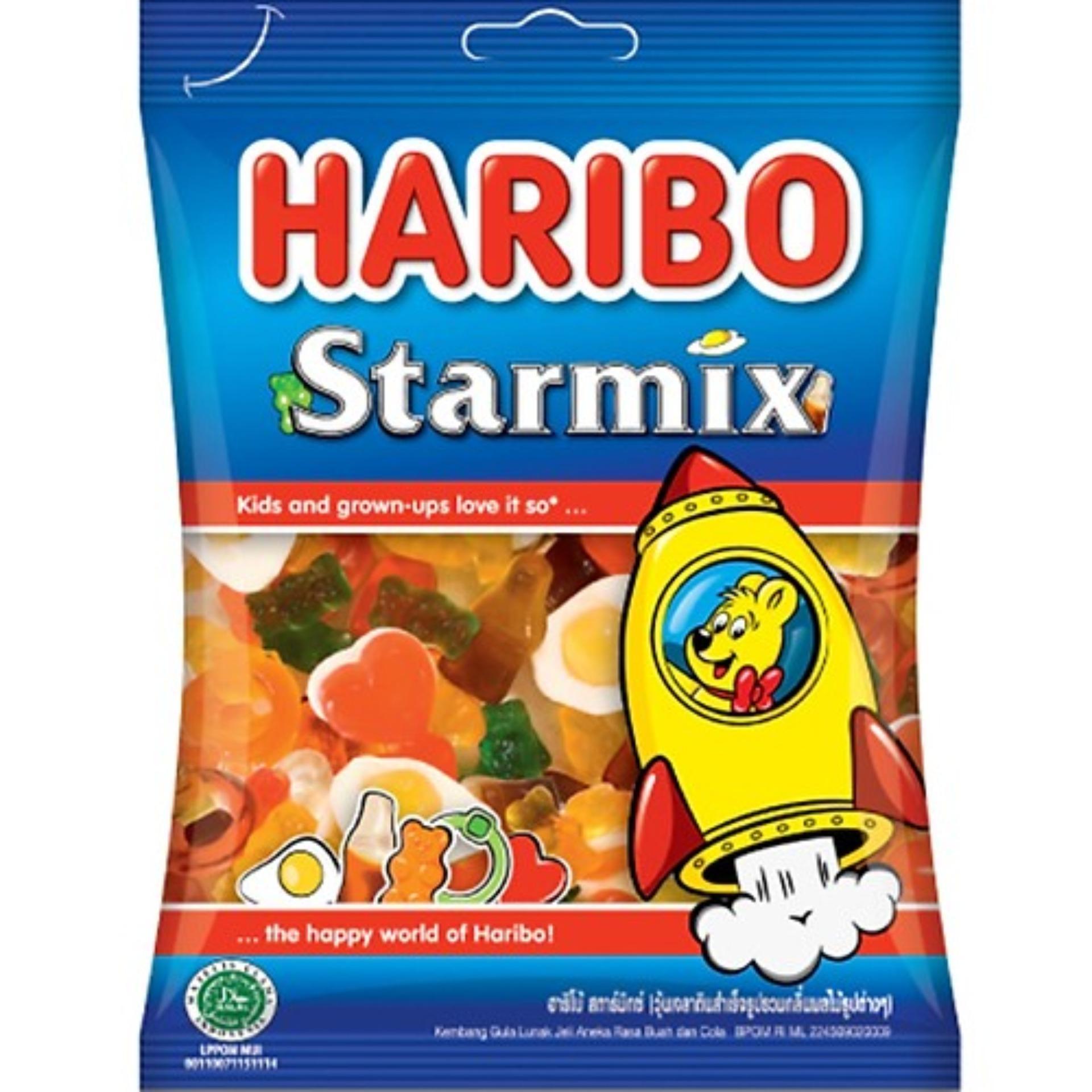 Kẹo dẻo Haribo Starmix