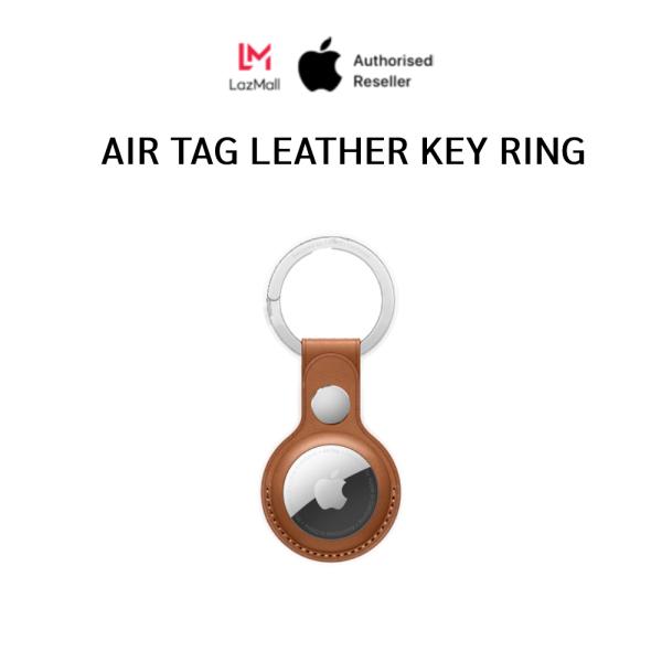 Airtag Leather Key Ring - Ốp bảo vệ thiết bị định vị