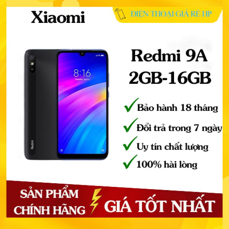 Điện thoại Xiaomi Redmi 9A RAM 2GB ROM 32GB - Sẵn Tiếng Việt, Hàng mới 100%, Nguyên seal, Chính hãng, Bảo hành 18 tháng