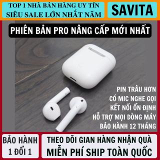 Tai Nghe Bluetooth Thế Hệ 12 5.0 TWS Nút Cảm Ứng Pin Trâu Có Cửa Sổ Kết Nối, Micro Đàm Thoại 2 Bên - Tai Nghe Không Dây Nhét Tai - Tai Nghe Bluetooth Mini - tai nghe bluetooth nhét tai thumbnail