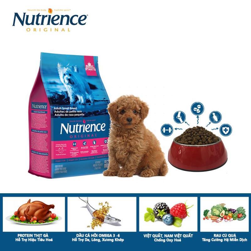 Thức Ăn Cho Chó Poodle Nutrience Original - Thịt gà, rau củ và trái cây tự nhiên