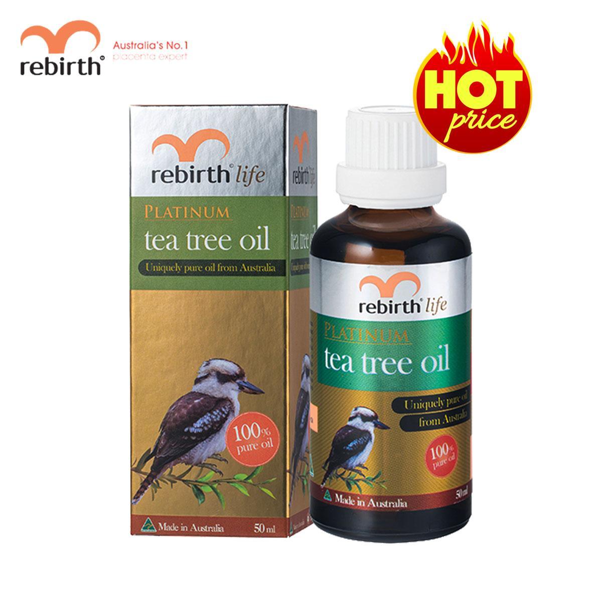 Tinh dầu tràm trà Rebirth Life 50ml