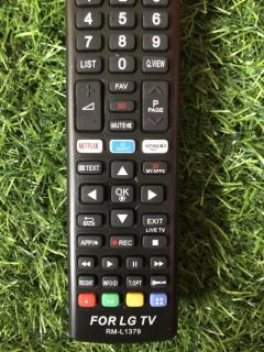 Điều khiển tivi LG RM-L1379 smart internet - tặng kèm pin - Remote LG RM-L1379 loại tốt thay thế tương thích hoàn toàn khiển zin theo máy 4