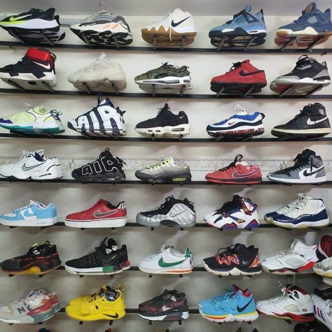 Giày secondhand thể thao bóng rổ hiệu chất bao Auth giá rẻ