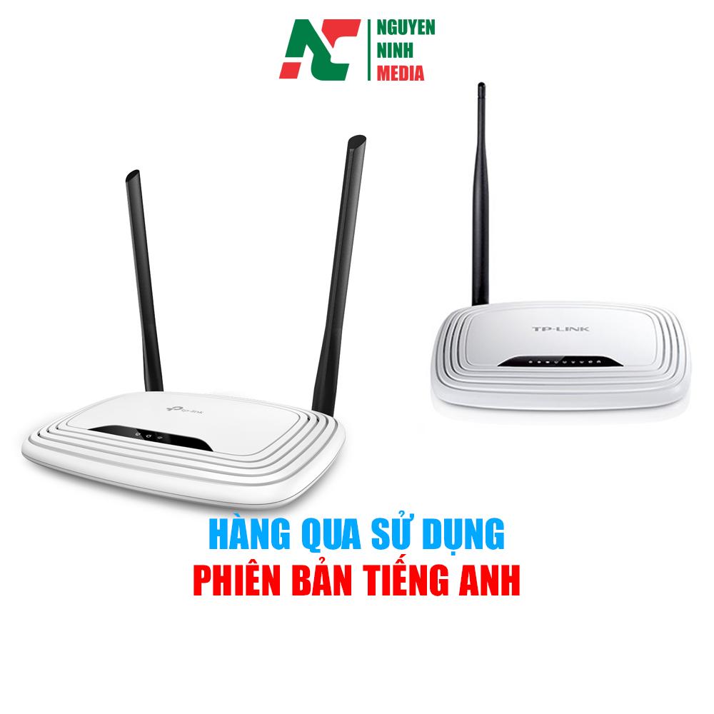 Modem Wifi 2 Râu 841N và 1 Râu 740N Tp.Link kèm adapter- Bảo Hành 01 tháng