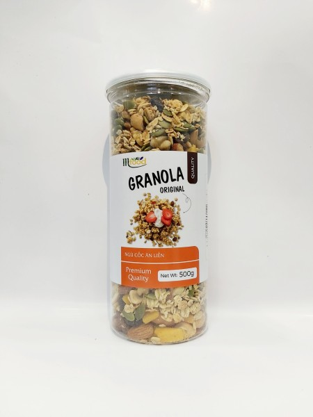 Granola Yến Mạch Mix Hạt Giảm Cân MFOOD Hủ 500g