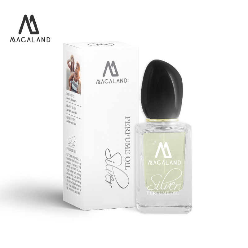 Nước hoa nam nữ unisex Sil ver MACALAND 30ml dạng xịt dành cho nam và nữ ưa thích hương mát mẻ nhẹ nhàng nhập khẩu