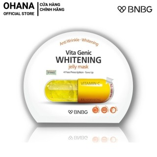 Mặt Nạ Giấy BNBG Whitening Dưỡng Trắng Và Làm Đều Màu Da BNBG Vita Genic Whitening Jelly Mask 30ml (Vàng) thumbnail
