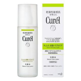 Nước hoa hồng cho da dầu mụn Curel Sebum Care Lotion 150ml - Nhật Bản thumbnail