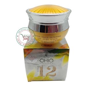 Kem mụn - Trắng da - Xóa tàn nhang - Thâm - Liền sẹo 12 tác dụng Ohio Collagen Đông trùng hạ thảo 30g Siêu thị trực tuyến 247 thumbnail