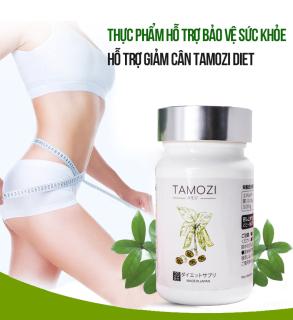 Viên uống giảm cân TAMOZI Nhật Bản hàng chính hãng thực phẩm hỗ trợ giảm cân giảm mỡ Nhật Bản XP-TZ011 thumbnail
