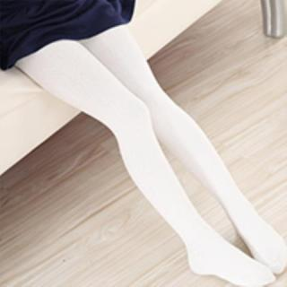 Mùa Xuân Và Mùa Thu Trắng Dệt Kim Cotton Trẻ Em Pantyhose Cô Gái Xà Cạp Vớ Múa Vớ Bé Gái Pantyhose thumbnail