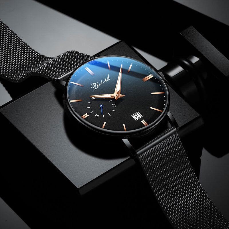 Nơi bán Đồng hồ nam DIZIZID DIZK chống nước mặt siêu mỏng Original Design dây thép lụa cao cấp