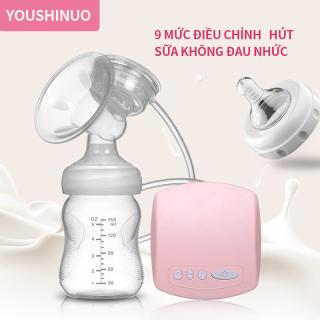 Máy hút sữa bằng điện, máy hút sữa tự động, máy hút sữa mẹ sau sinh, máy hút sữa lực hút lớn, không dùng tay thumbnail