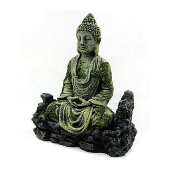 Tượng Phật thiền trang trí bể cá, bể bán cạn, bể thủy sinh