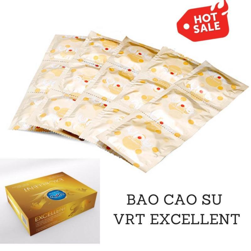 Bao cao su giá rẻ dành cho gia đình VRT Excellent - 20 chiếc