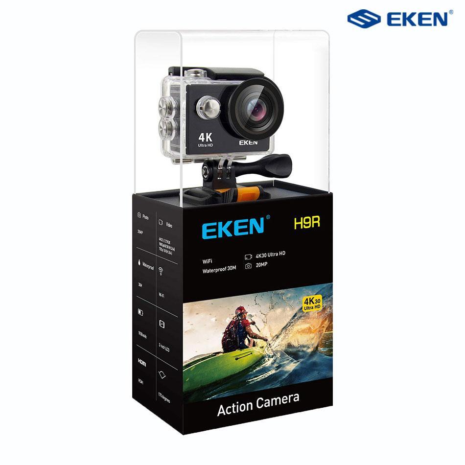 Camera Hành Trình Eken H9R Version 7 - Tặng Khóa Học Làm VIDEO Chuyên Nghiệp - Bảo Hành 12 Tháng - Eken Official Store Với Giá Sốc